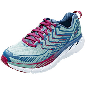 Hoka One One Clifton 4 Running Shoes Women aquifer/vintage indigo